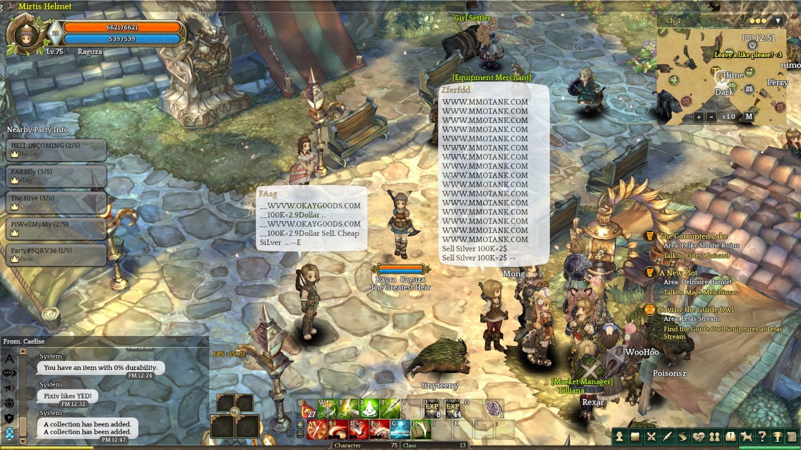 Report] Chat spam bot - General Discussion - Tree of Savior