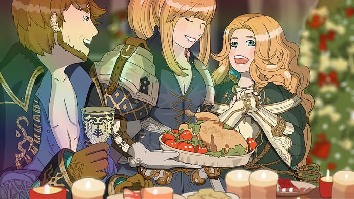 TOS Christmas dinner Oreo Fedimian