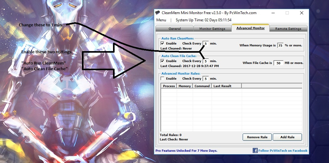 Finally found a fix for low fps and memory not releasing