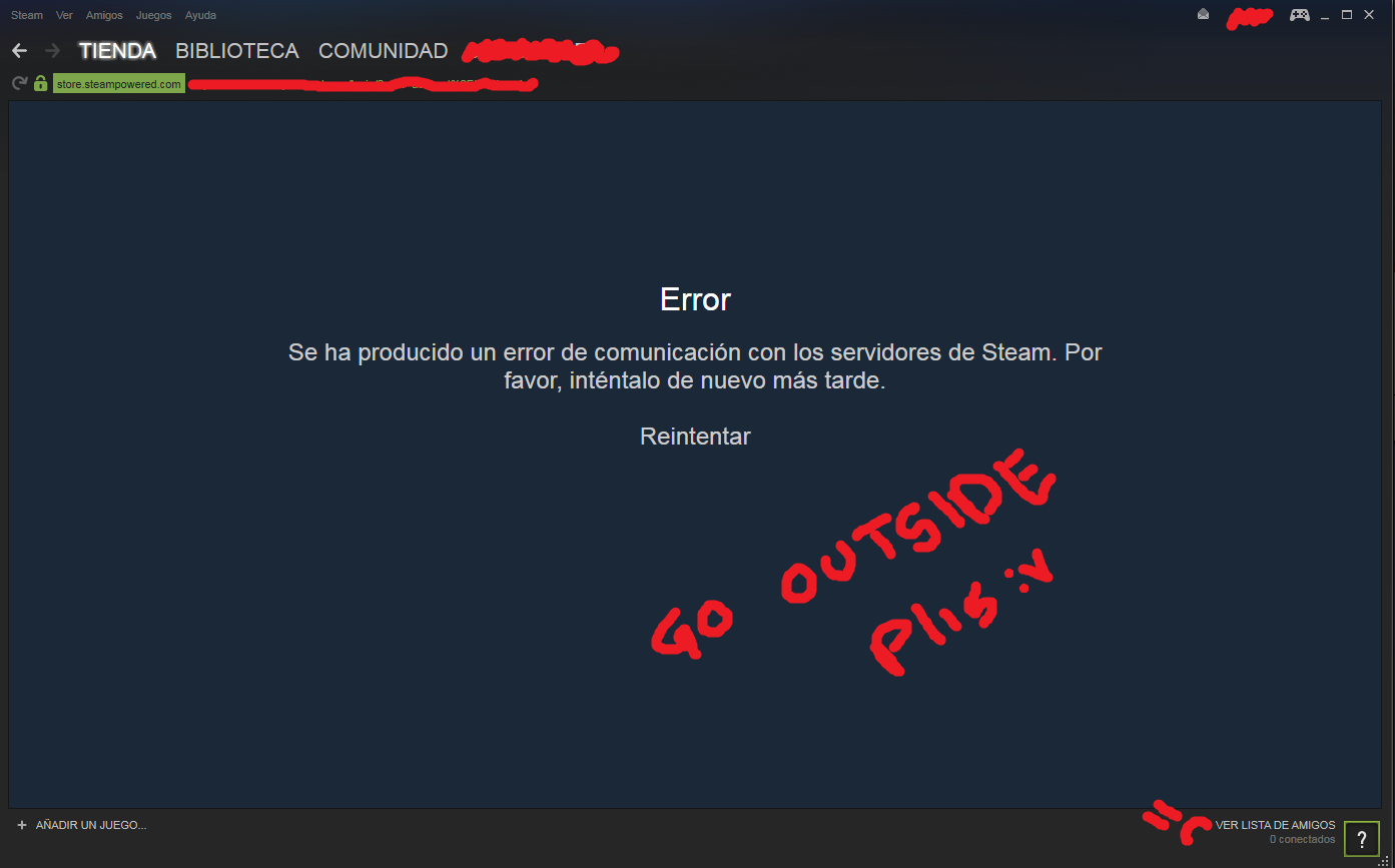 Cant enter server after steam shutdown - General Discussion - Tree