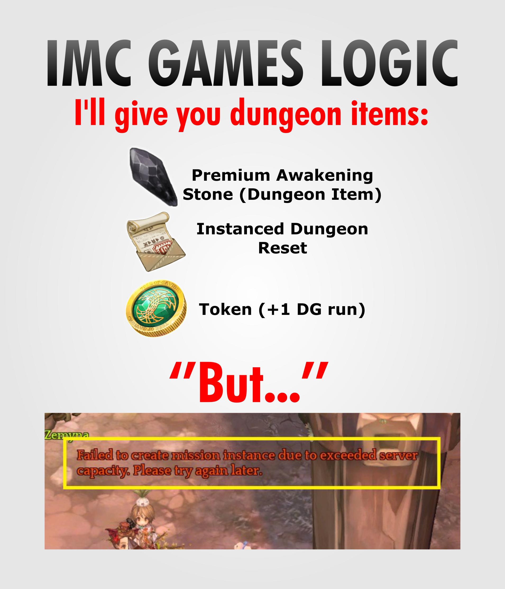 IMC Games Logic - General Discussion - Tree of Savior
