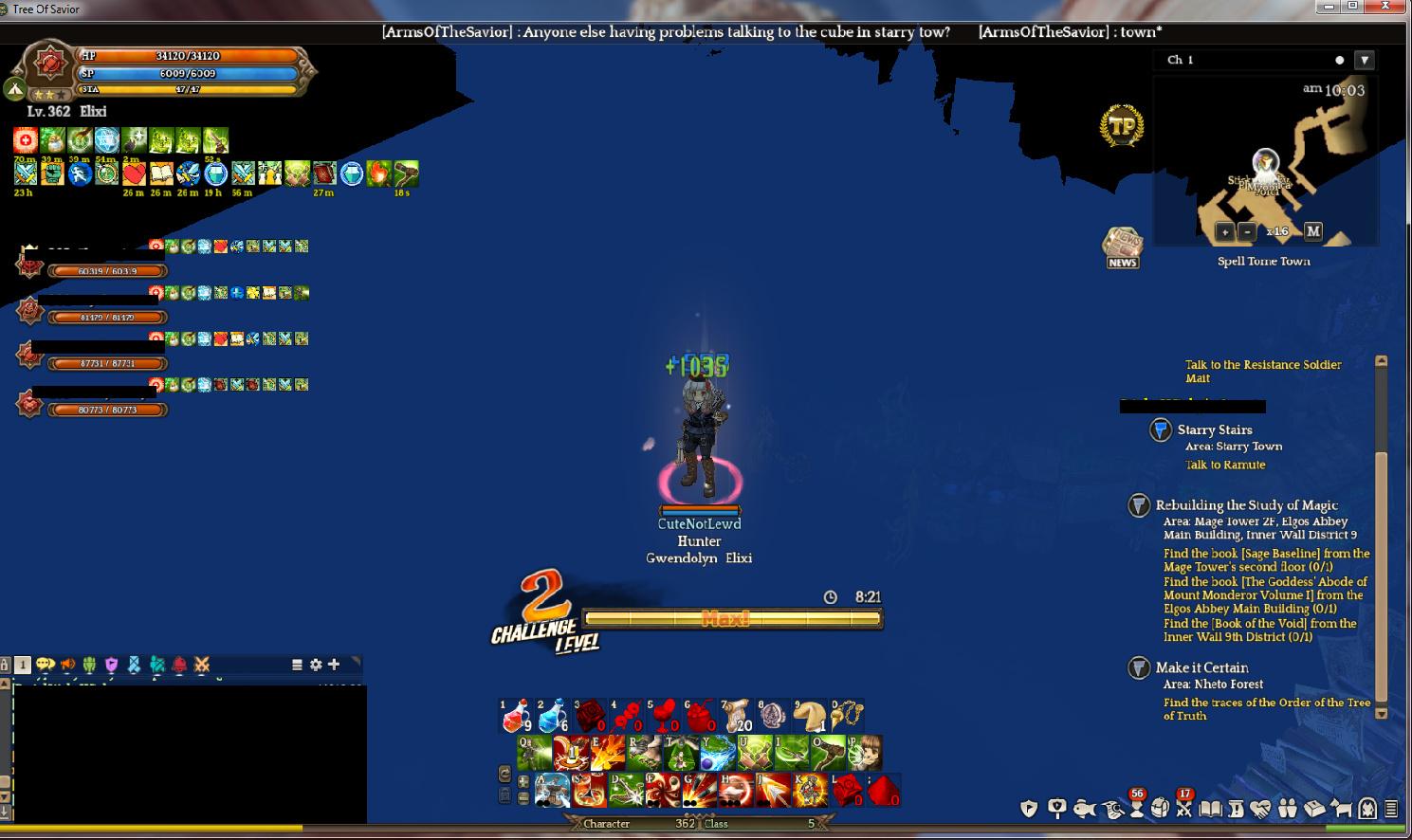 Challenge MOde: Spell Town [Klaipeda] im flying! - Gameplay