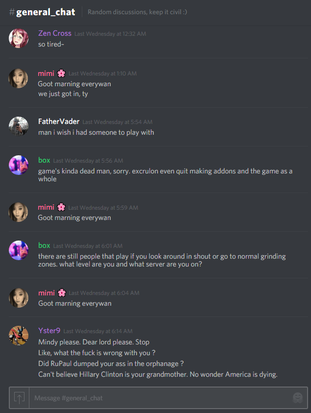Discord Community] The TOS Discord (All Servers) 2 0