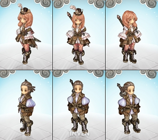 BIG UPDATE KTOS New Costumes And Cosmetics Warning A - Hairstyle color tree of savior