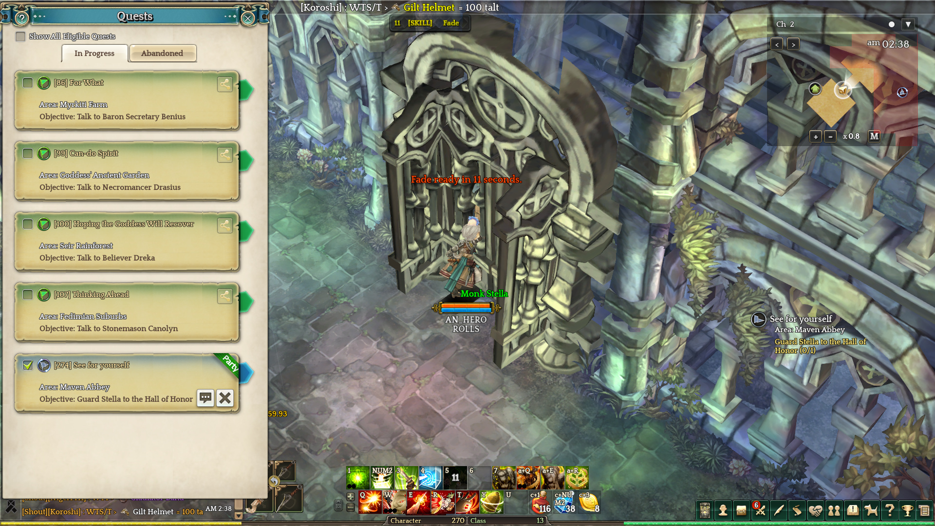 blob.jpg1920x1080 950 KB & Maven Abby Door both Open and Closed - Game Content - Tree of Savior