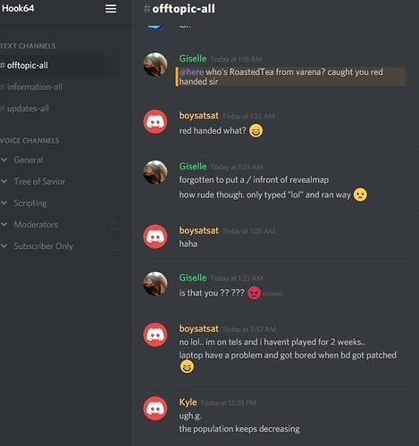 Adventures on the hook64 Discord (1) - General Discussion