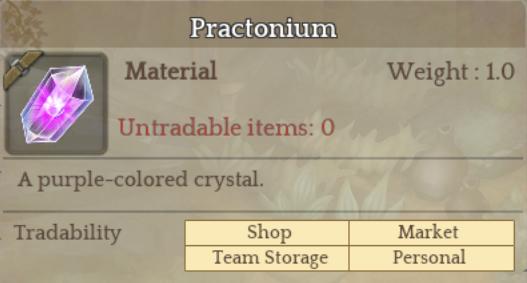 Practonium